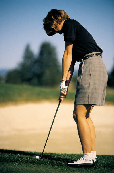 Massage for golfers