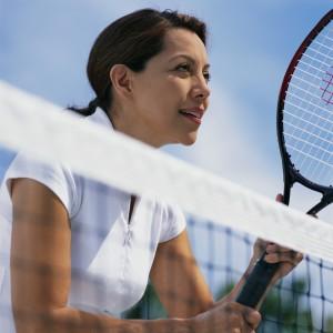 Tennis players get Massage
