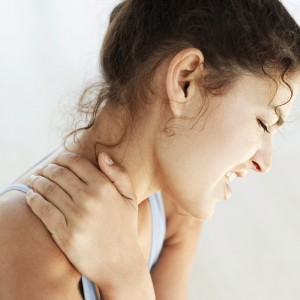 Massage for neck pain.